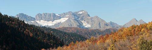 Панорама горы Агепста