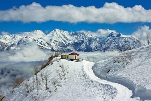 фотографии, цены, температура на красной поляне в горах если присутствует резкий