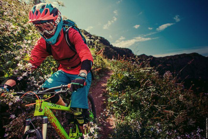 Горный велосипед в Красной Поляне