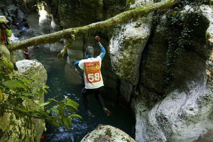 Прыжок в каньон