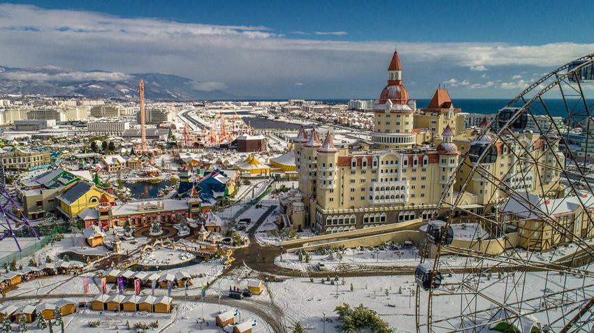 Сочи Парк» в новогодние праздники! | Путеводитель по Красной Поляне