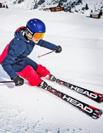 Тесты горных лыж HEAD на ГТЦ «Газпром»