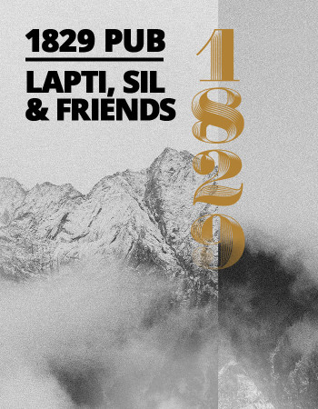 Lapti, Sil & Friends | 1829 pub Rosa Khutor