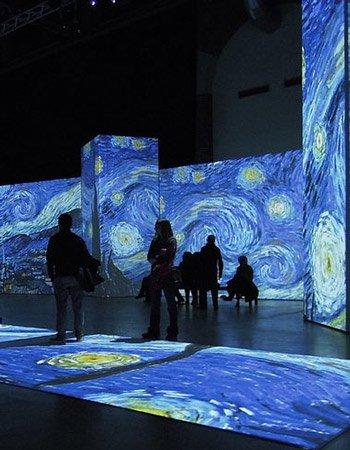 «Ван Гог. Ожившие полотна» на Роза Хутор