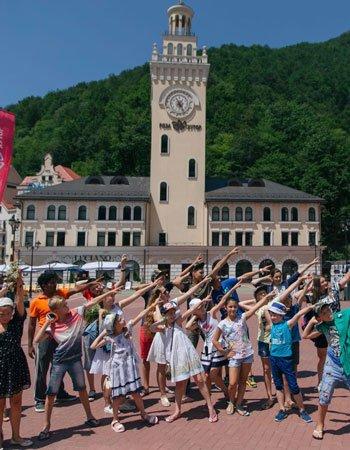 Детские летние каникулы в Красной Поляне