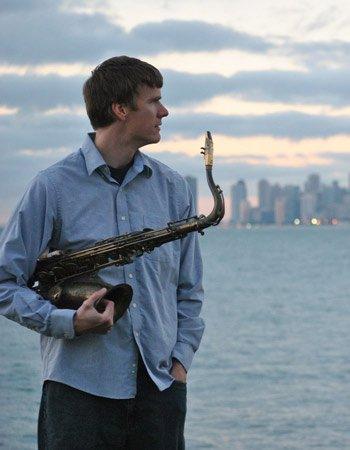Концерт саксофониста-битбоксера Брауна (Чикаго) в ГТЦ Газпром