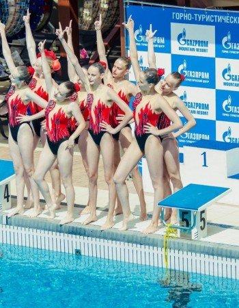 Всероссийские детские соревнования по синхронному плаванию «Черноморская русалочка»