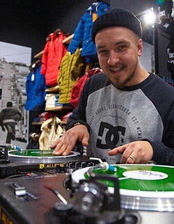 """dj Archy & DJ Rich (Rudeboyz) в баре """"Елочка"""""""