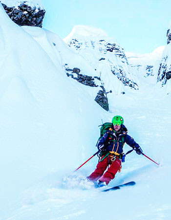 Обучающий фрирайд-курс. Уровень 2. Лыжи и сноуборд