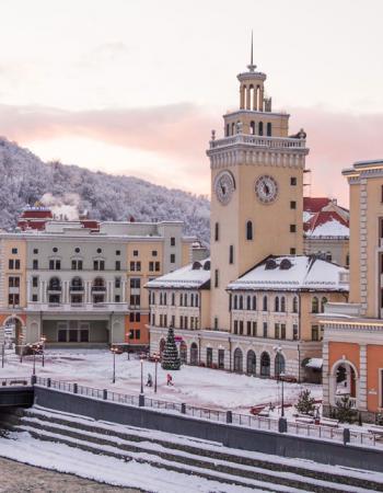 Открытие сезона 2017 на горнолыжном курорте «Роза Хутор»