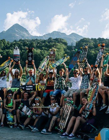 Chill & Hill Longboard Camp на «Роза Хутор»