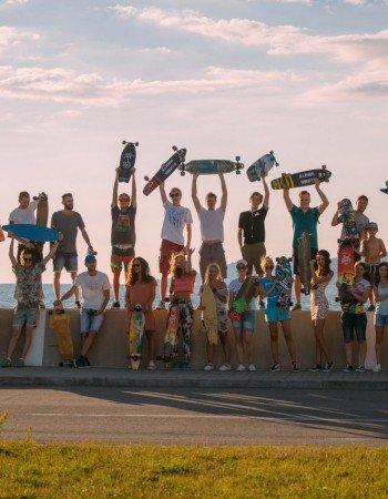 Go Longboard в Сочи - заключительная тренировка!
