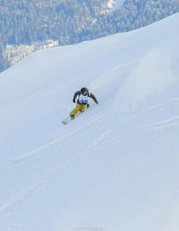 Школа фрирайда начальный уровень. Только сноубордисты!
