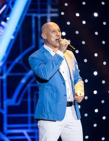 Денис Майданов на сцене Роза Холл