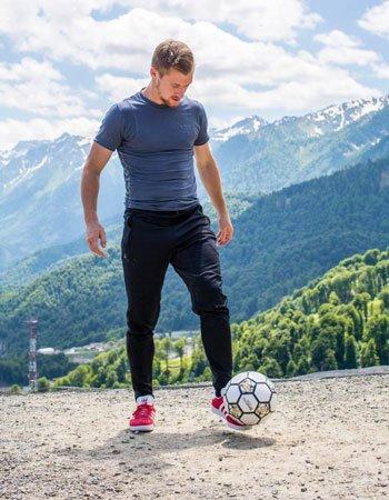 Горный парк футбола на Роза Хутор
