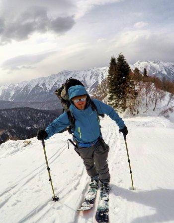 Школа ски-тура начальный уровень