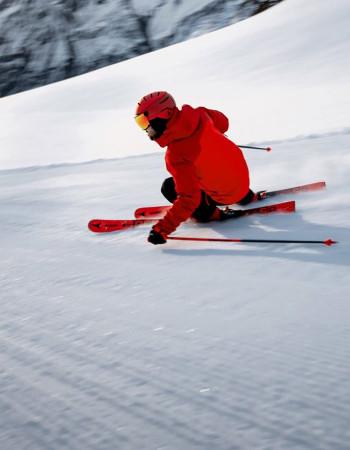 Тесты горных лыж на Курорте Красная Поляна