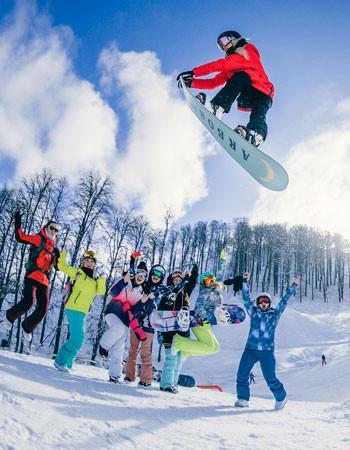 TINKOFF ROSAFEST - самый снежный фестиваль России