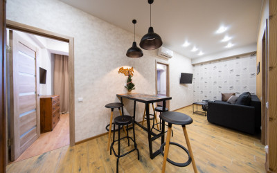 Большая стильная квартира на Эстонской