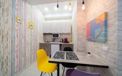 Новая трёхкомнатная квартира в Красной Поляне