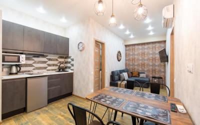 Большая квартира с лаконичным дизайном