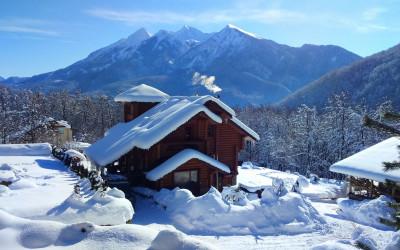 Красивое горное Шале с семейным СПА