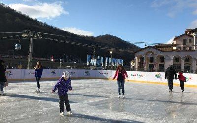 Открытый ледовый каток в Горки Городе