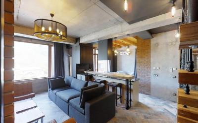 Двухэтажная квартира на Вознесенской 49
