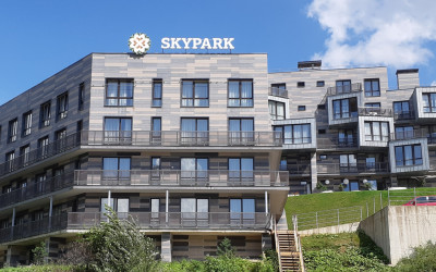 Семейный апартамент САНАпарт в Skypark