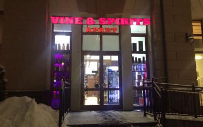 Vine & Spirits apart