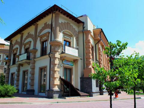 Детский сад-школа Согласие в Красной Поляне вход
