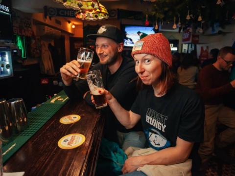 Крафтовое пиво в The Kenny Pub в Красной Поляне.