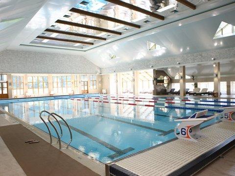 ГТЦ Газпром Гранд Отель Поляна Крытый плавательный бассейн 25 м