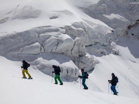 Гид ски тур в Красной Поляны