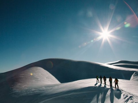 Скитур в горах Абхазии