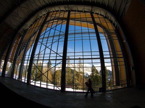 Верхняя станция канатных дорог Альпика Сервис (3S)