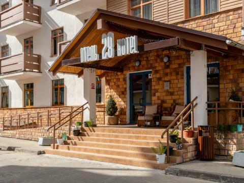 Бюджетный отель 28 в горах Красной Поляны, Сочи