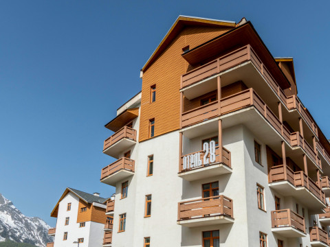 Бюджетный отель 28 в Горной Олимпийской деревне