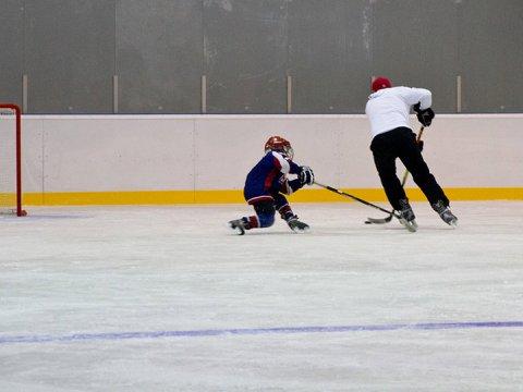 Секция по хоккею в Красной Поляне