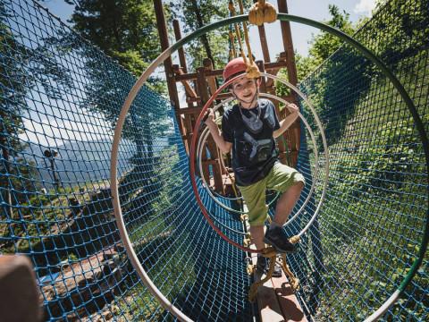 Веревочный парк в Красной Поляне