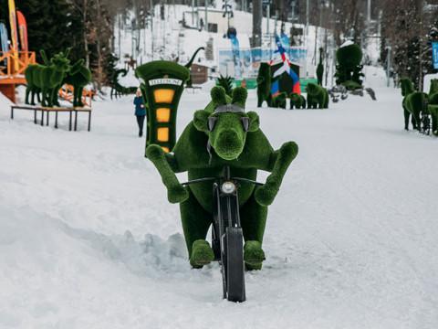 Парк Зеленая Поляна Лаура Газпром