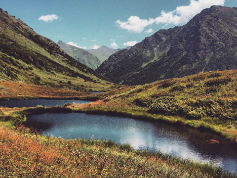 Походы в Кавказских горах с гидами