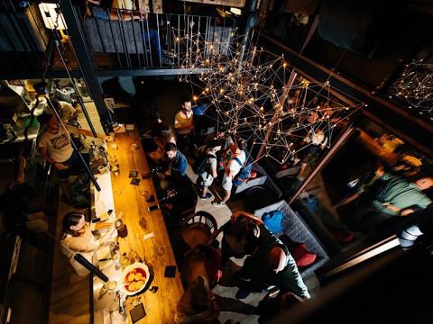 Вечеринка в баре Лифт в Красной Поляне.