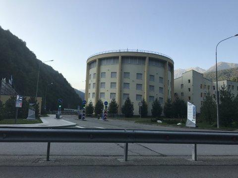 Здание парковки