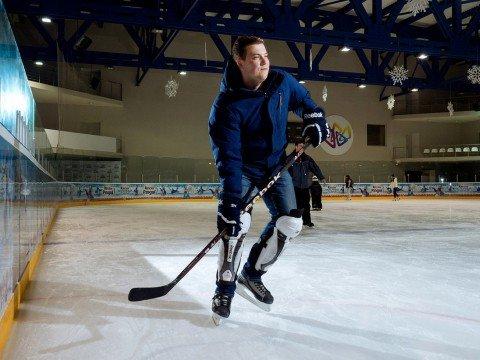 Хоккей на Роза Хутор