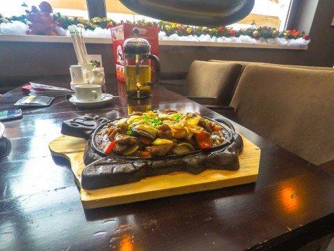 Блюдо, Китайский Народный Ресторан, Роза Хутор, Красная Поляна, Сочи