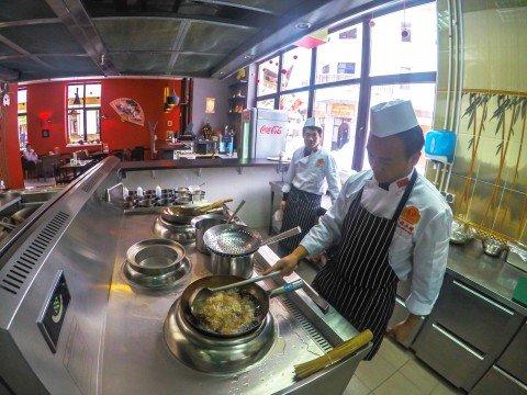 Кухня, Китайский Народный Ресторан, Роза Хутор, Красная Поляна, Сочи