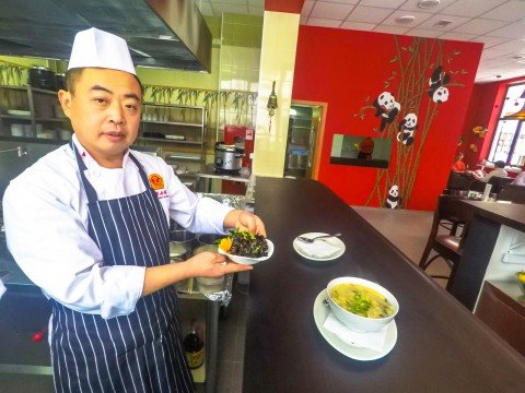 Шеф Ян Чуаньху, Китайский Народный Ресторан, Роза Хутор, Красная Поляна, Сочи