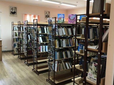 Библиотека в пгт Красная Поляна