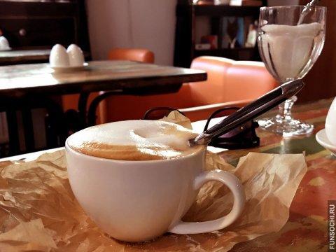 Кафе мандариновый джем Горная олимпийская деревня